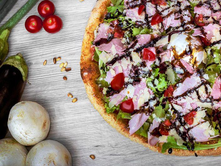 la pizza sur cimiez - en livraison ou à emporter - produits frais produits locaux