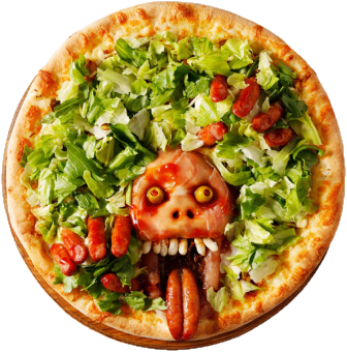 Pizza pour halloween