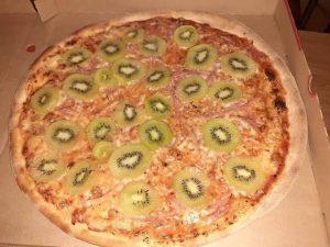 la pizza Kiwi